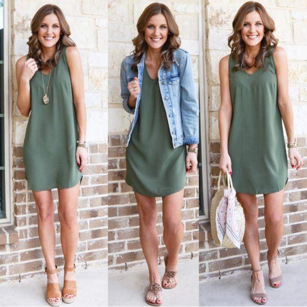 One Dress 3 Ways