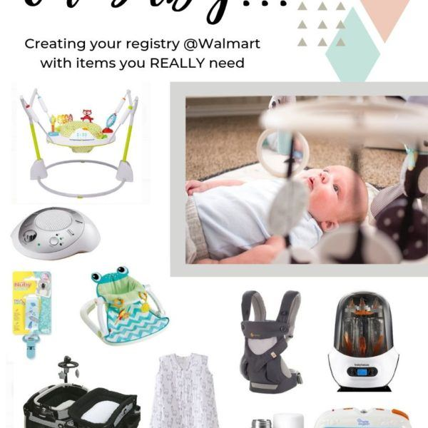 Walmart Baby Registry + items you REALLY need