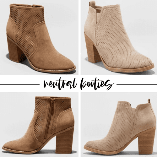 affodrable, great quality booties under forty dollars that are a staple for Fall