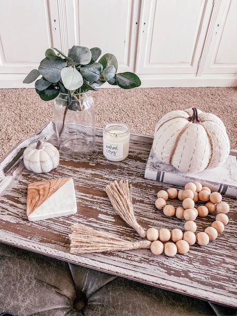 coffee table Fall decor