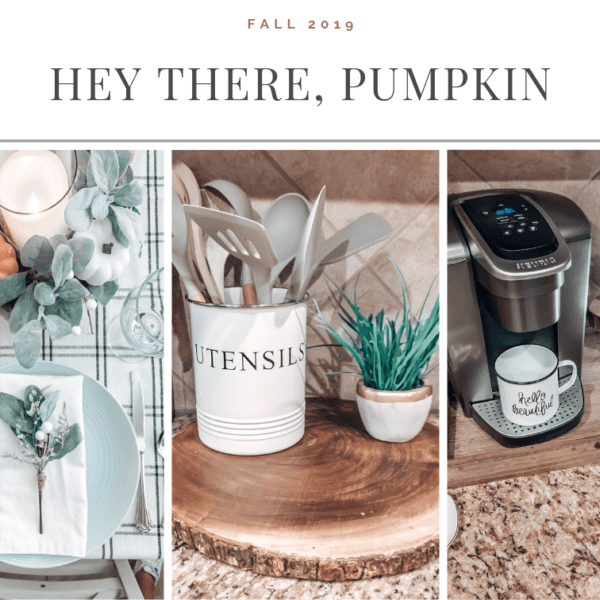 Take a peek inside our home for Fall