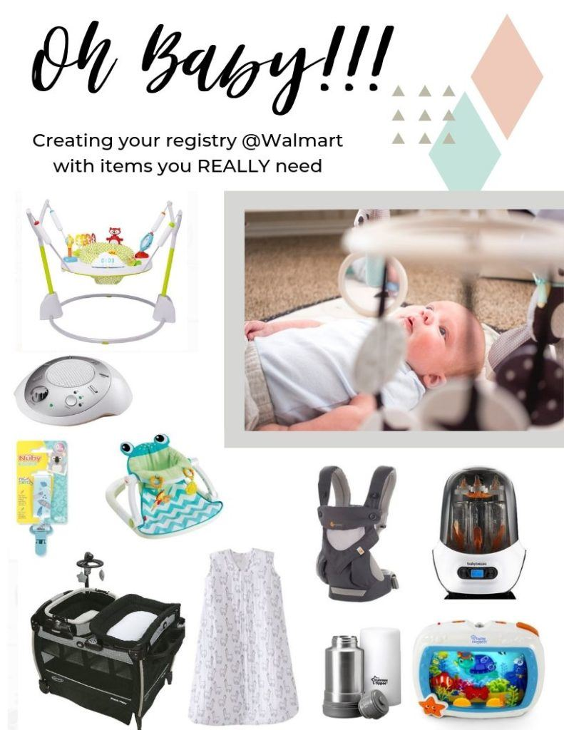 Items You Really Need when registering for baby that are budget friendly