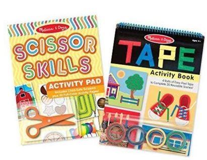 Melissa & Doug Scissor Skills and tape book