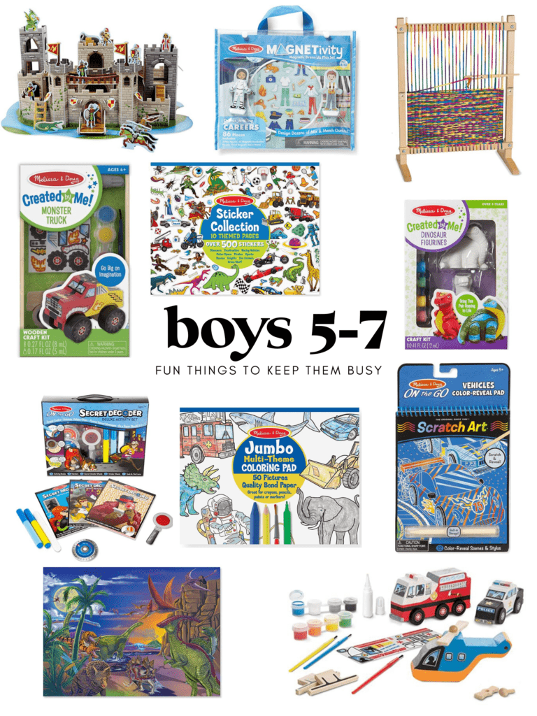 activities for boys ages 5-7