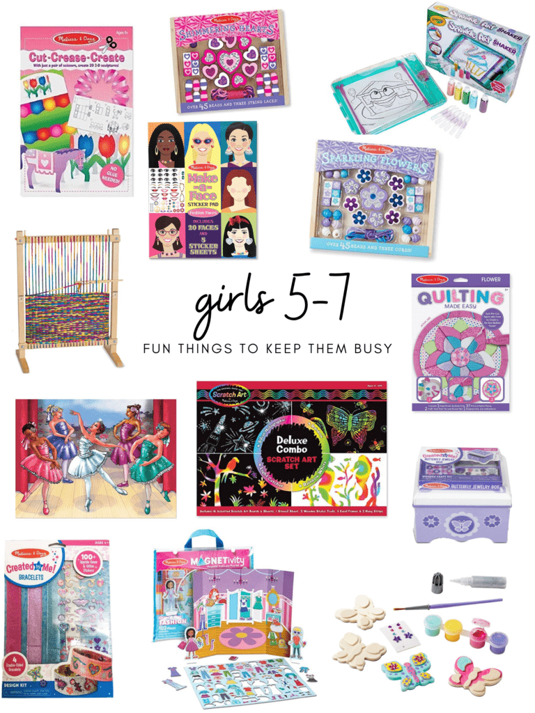 activities for girls ages 5 -7